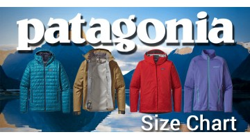 Patagonia Clothing Sizing Chart