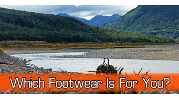 Choosing Gear - Outdoor Footwear