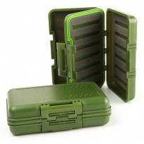 Stalker Tackle Waterproof Green Fly Box - Large