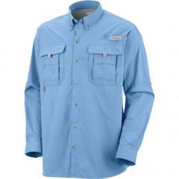 Columbia Men's Bahama II Long Sleeve Shirt - Sail Blue