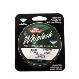 Berkley Whiplash 80lb 250m Green Braid