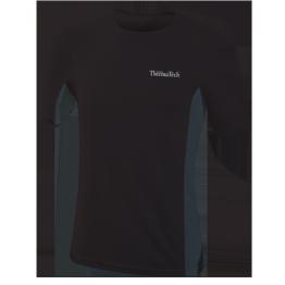 Thermatech S/S Ultrasport Black Baselayer Men's