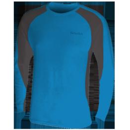 Thermatech Merino L/S Baselayer Men's Cobalt/Charcoal