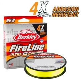 Berkley Fireline Exceed 4.4-30lb 135m Flame Green Braid
