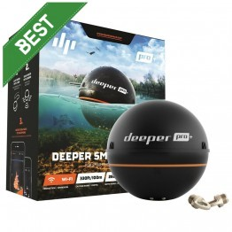 Deeper Smart Sonar PRO+ WiFi GPS Ideal Fresh or Salt Water