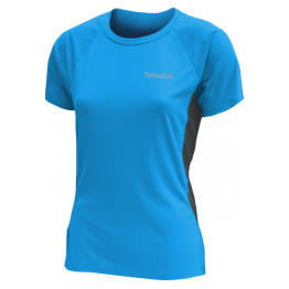 Thermatech Speed Dri Short Sleeve Training Tee Woman's Turquois/Charcoal