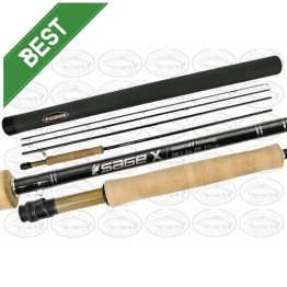 "Sage X 690-4 - 9'0"" #6 4 Piece Fly Rod"