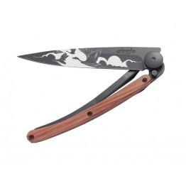 Deejo Tattoo 37G The Flight Rosewood Knife