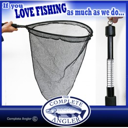 Kilwell Weigh Landing Net - Fine Mesh Bag & Clip with Scales