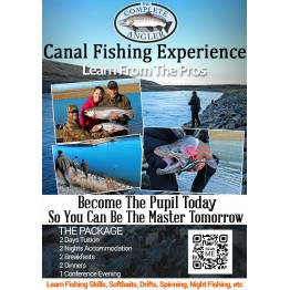 Canal Fishing School - Canals Trips 2018 - Standard Room - TWIN (CFE)
