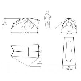 Marmot Force 1P Adventure Tent