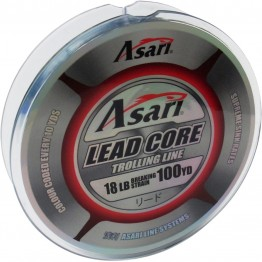 Asari Lead Core Trolling Line 18lb 100yd
