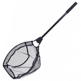 Jarvis Walker Deluxe Boat Landing Net 90cm - Rubber