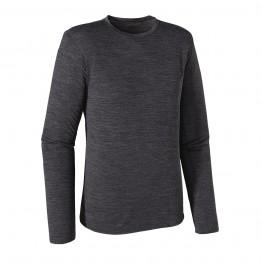 Patagonia Merino Long Sleeve Daily T-Shirt - Black
