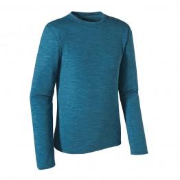 Patagonia Merino Long Sleeve Daily T-Shirt - Blue