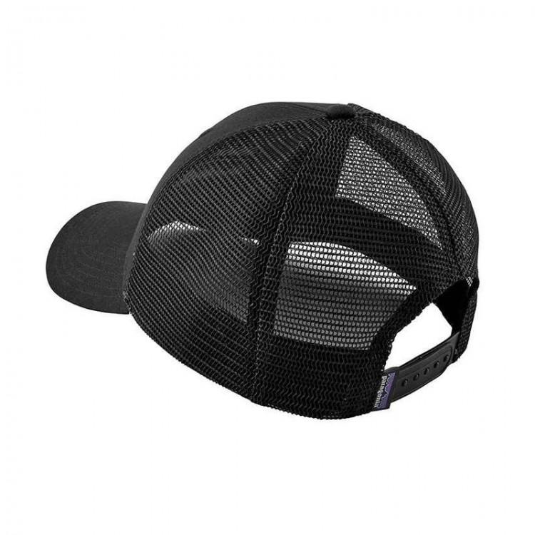 0e69d73d76873 Patagonia Fitz Roy Trout Trucker Hat - Mid Crown - Black