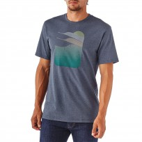 Patagonia Men's Wake Up Responsibili-Tee - Prussian Blue