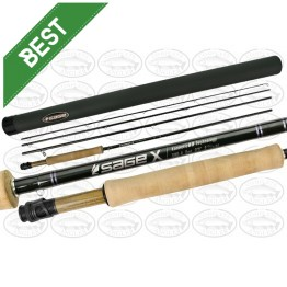 "Sage X 590-4 - 9'0"" #5 4 Piece Fly Rod"