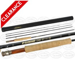 "Sage One 382-4 8'2"" #3 4 Piece Fly Rod"