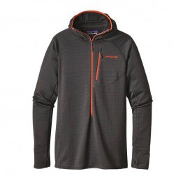 Patagonia Men's R1 Full-Zip Hoody - Forge Grey