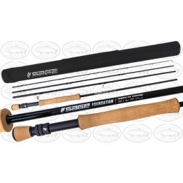 "Sage Foundation 890-4 9'0"" #8 4 Piece Fly Rod"