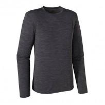 Patagonia Men's Merino Daily Long Sleeve Top - Black