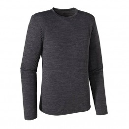 Patagonia Men's Merino Daily Long Sleeve Top - Black