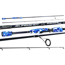 Shakespeare Slingshot Engage 7' 2 Piece & Abu BlackMax 20 Reel Set  Rod Reel Line