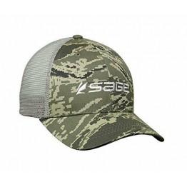 Sage Cap Mesh Back - Green Digital Camo