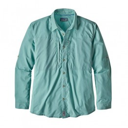 Patagonia Men's Sun Stretch Shirt - Dam Blue