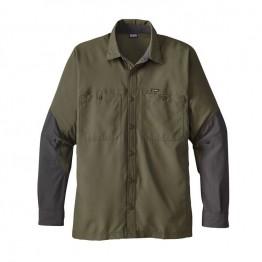 Patagonia Men's Lightweight Field Shirt - Industrial Green
