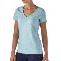 Patagonia Women's Necessity V-Neck Tee Blue