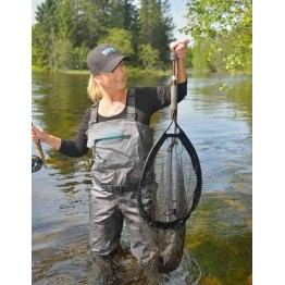 Mclean Weigh Short Handle Net - Large - Rubber