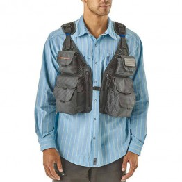 Patagonia Convertible Fishing Vest - Forge Grey