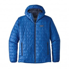 Patagonia Men's Nano Puff Hoody - Viking Blue
