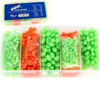 Cobalt Blue Lumo Bead Set 900 Pieces in Box