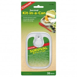 Coghlans Survival Kit in a Can - 38 Items