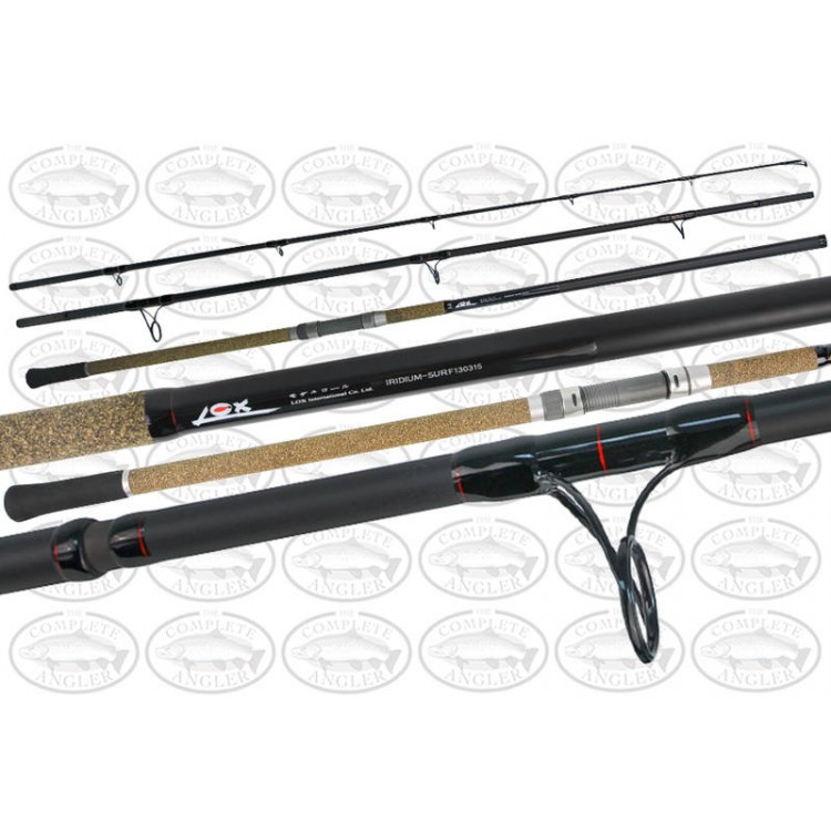 Lox Iridium Surf Rod 13' & Daiwa Windcast 6000 Reel