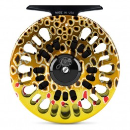 Abel Super Series  3N Fish Graphic Brown Trout Reel