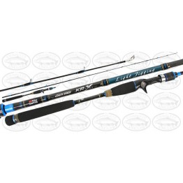 "Abu Garcia Salty Stage Light Jigging KR-X 6'3"" 2 Piece 4-7kg Rod"