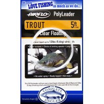Airflo PolyLeader Floating 5 Foot Trout