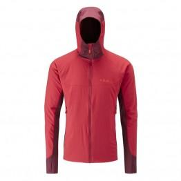 RAB Alpha Flux Men's Fleece Jacket - Cayenne