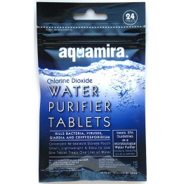 Aquamira Water Purifier Tablets 24pk