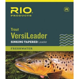 Rio Trout Versileader 7ft Intermediate - 7ft 12lbs 1.5ips