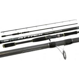 Berkley Attack 7' 2 Piece 4-8kg Casting Rod