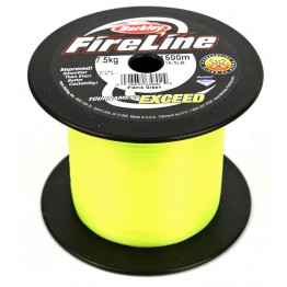 Berkley Fireline 11lb 1500m Flame Green Braid Bulk