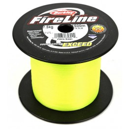 Berkley Fireline Exceed Assorted 1500m Flame Green Braid
