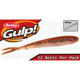 "Berkley Gulp Minnow 3"" New Penny Softbait"