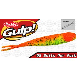 "Berkley Gulp Minnow 4"" Firetiger Softbait"