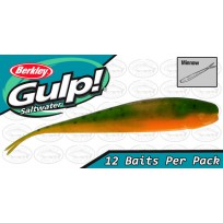 "Berkley Gulp 3"" Minnow Lime Tiger Softbait"